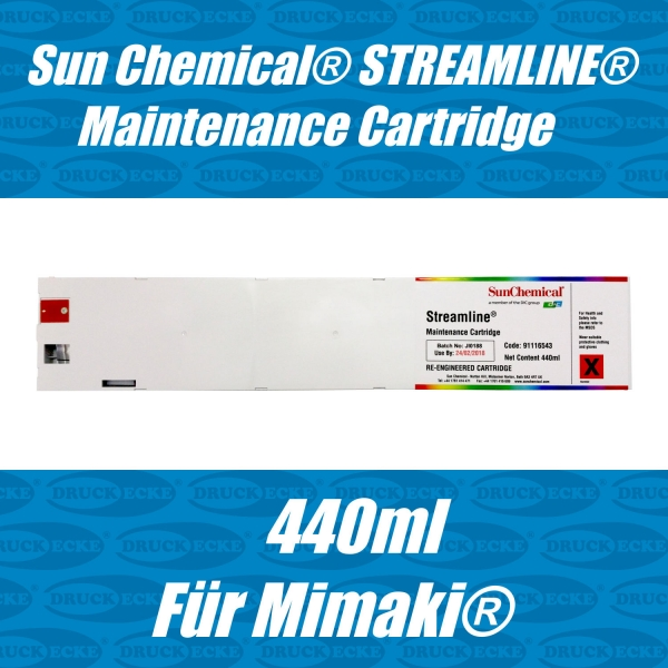 Sun Chemical® STREAMLINE® Maintenance Cartridge für MIMAKI®
