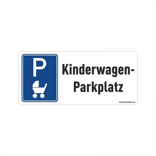 """Aufkleber """"Kinderwagen-Parkplatz"""""""