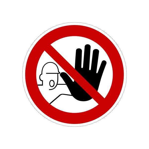 Verbotszeichen nach DIN 4844-2