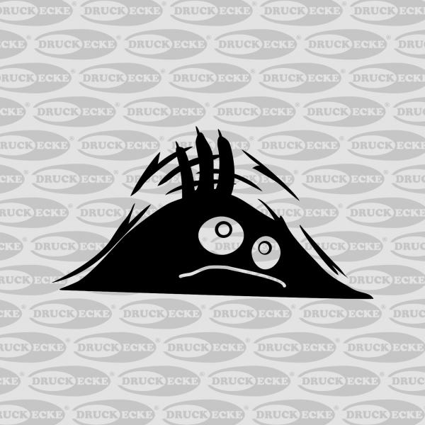 "Plottaufkleber ""Kofferraum-Monster"""