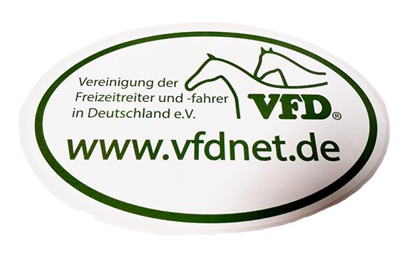 VFD Aufkleber