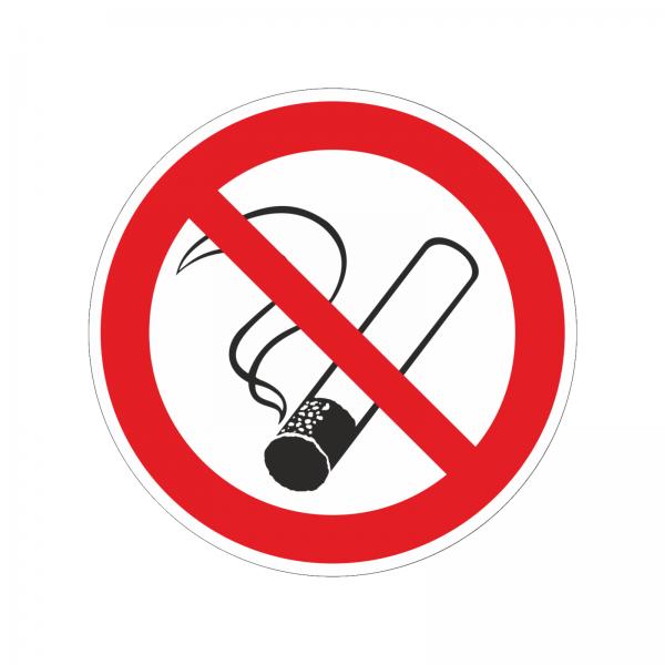 """""""Rauchen verboten"""" Aufkleber"""