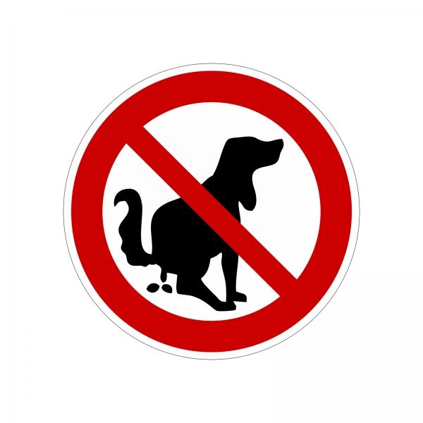 """""""Hunde / Haustiere verboten"""" Aufkleber"""