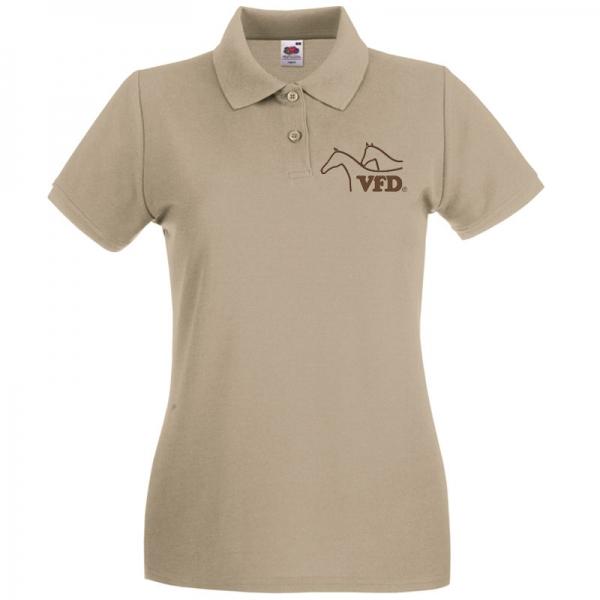 VFD Polo für Frauen mit gestickten Logo