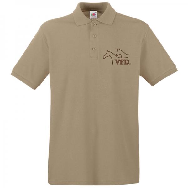 VFD Polo für Männer mit gestickten Logo