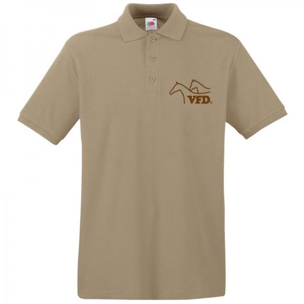 VFD Polo für Männer mit Flexdrucklogo