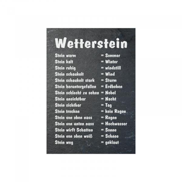 """""""Wetterstein"""" Schilder / Aufkleber"""